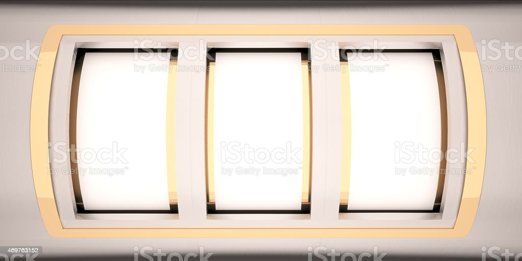 blank slot machine stock photo