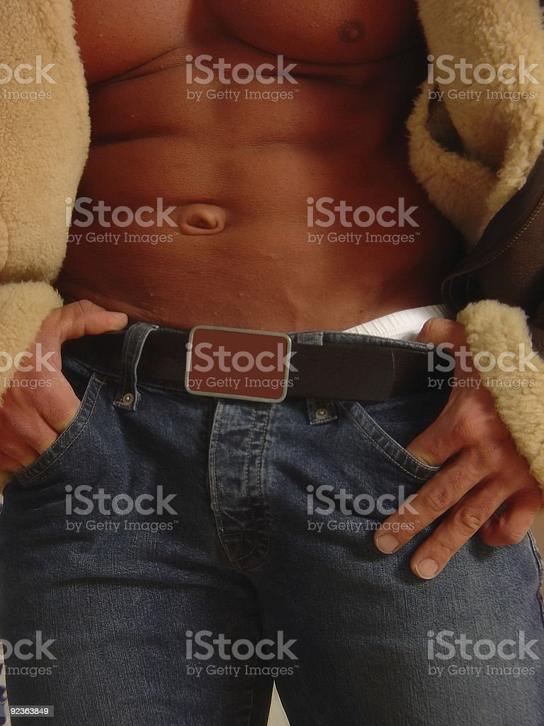 blank space on belt for message royalty-free stock photo