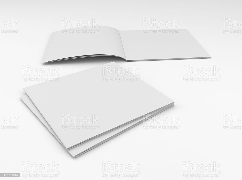 blank square catalog composition royalty-free stock photo