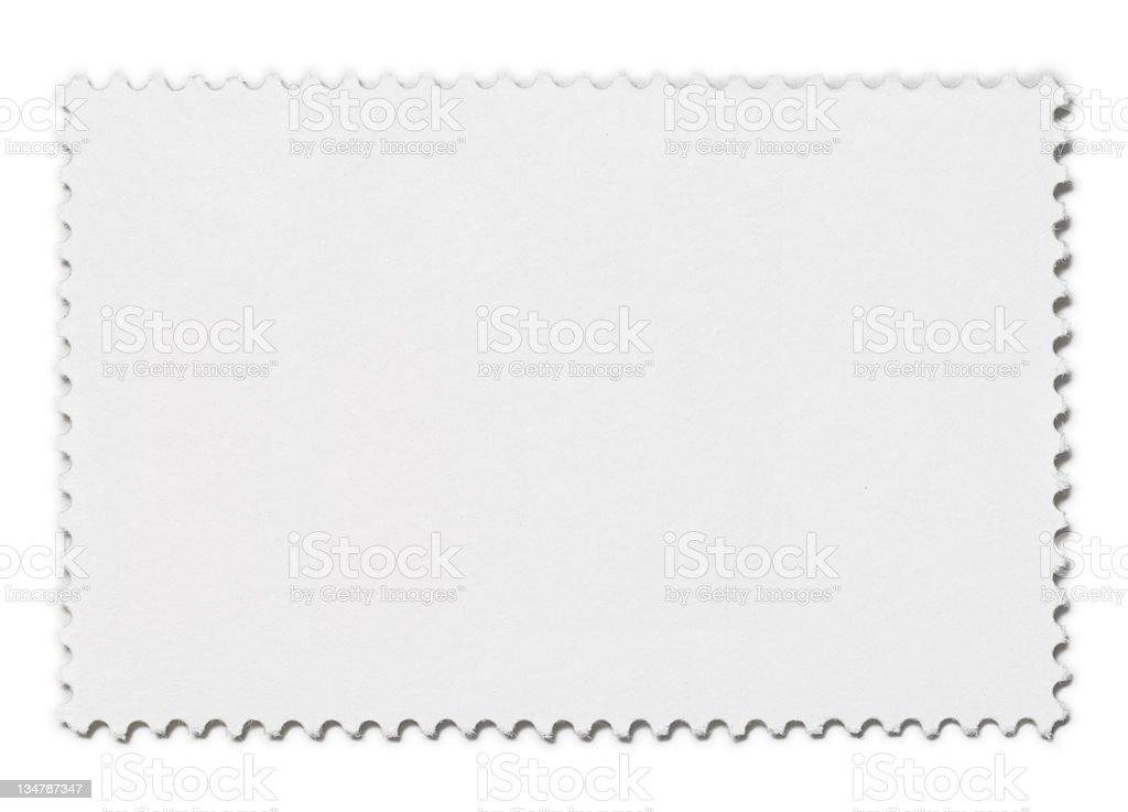 Blank Stamp XXL stock photo