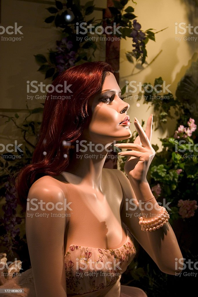 Blank Stare of a Mannequin royalty-free stock photo
