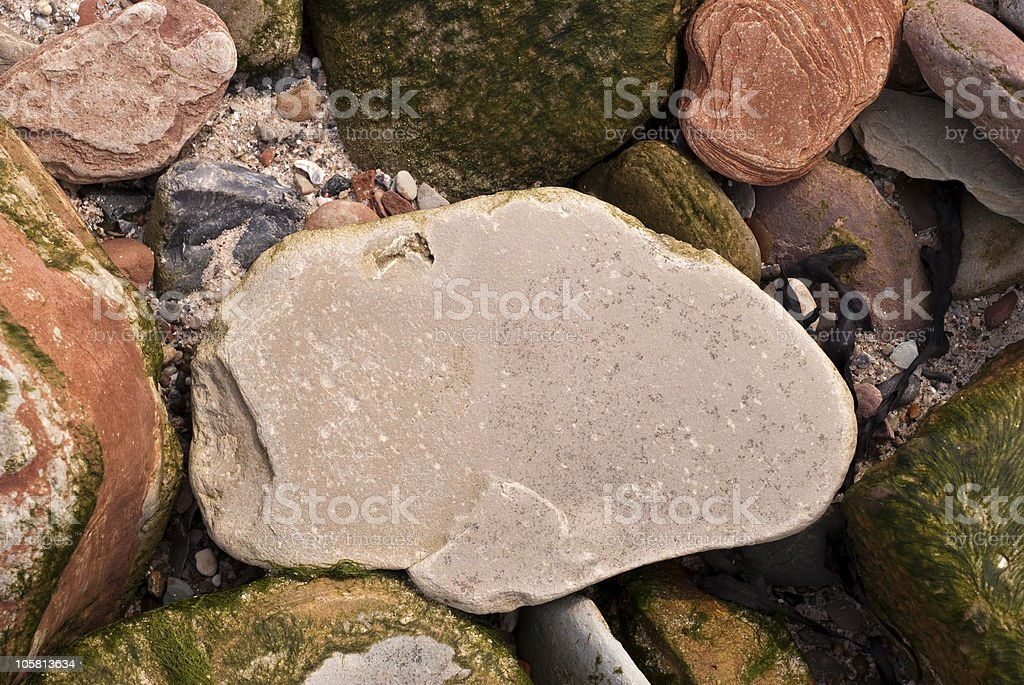 Blank stone stock photo