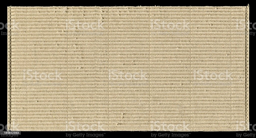 Blank striped cardboard textured background royalty-free stock photo