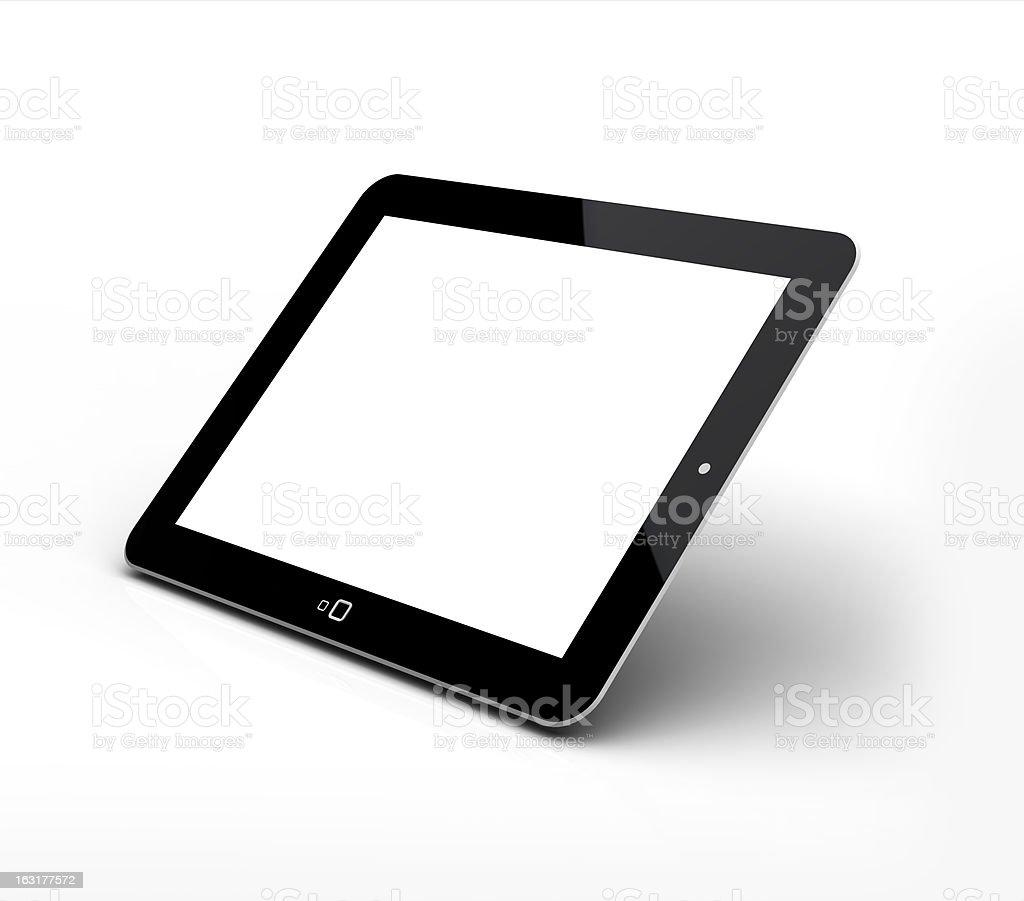 Blank tablet pad pc stock photo