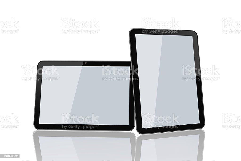 Blank Tablet Pad PC royalty-free stock photo
