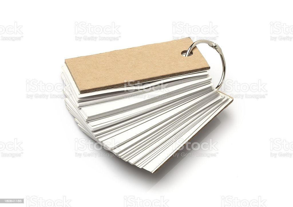 Blank Tag Paper royalty-free stock photo