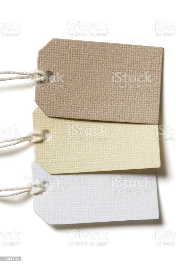 Blank Tag royalty-free stock photo