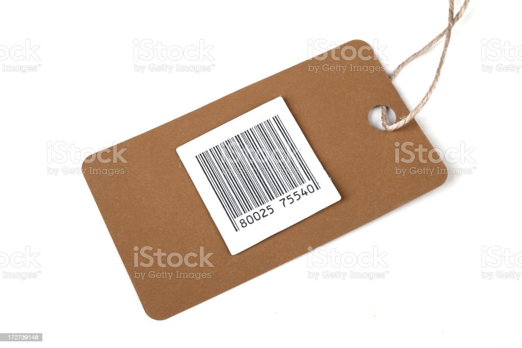 Blank Tag royalty-free stock photo