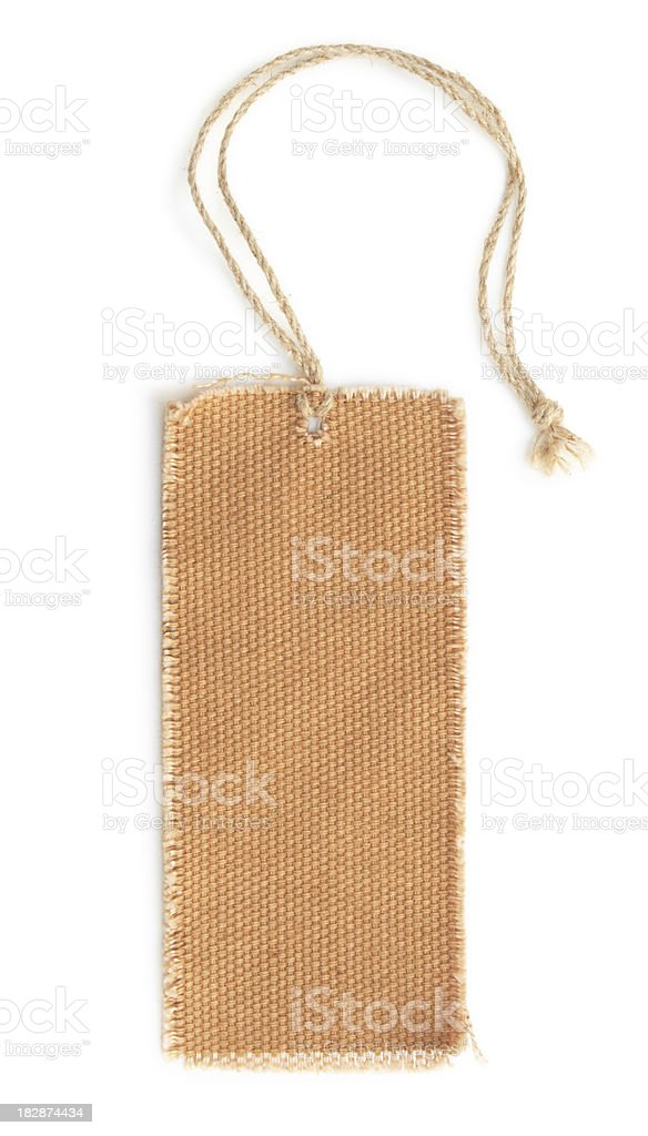 Blank Tag. royalty-free stock photo