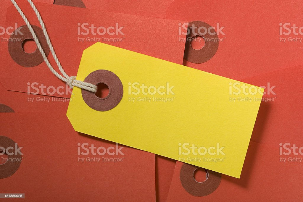 Blank Tags royalty-free stock photo
