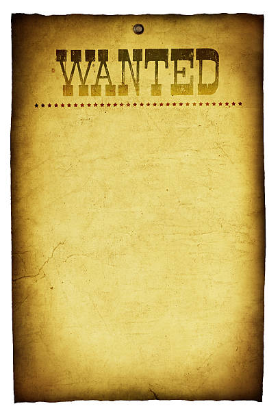 Wanted Poster Wild West Pictures Images and Photos iStock – Western Poster Template