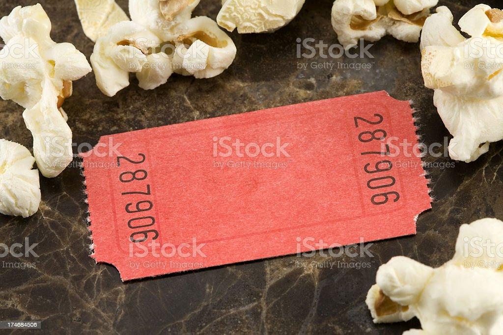 blank ticket royalty-free stock photo