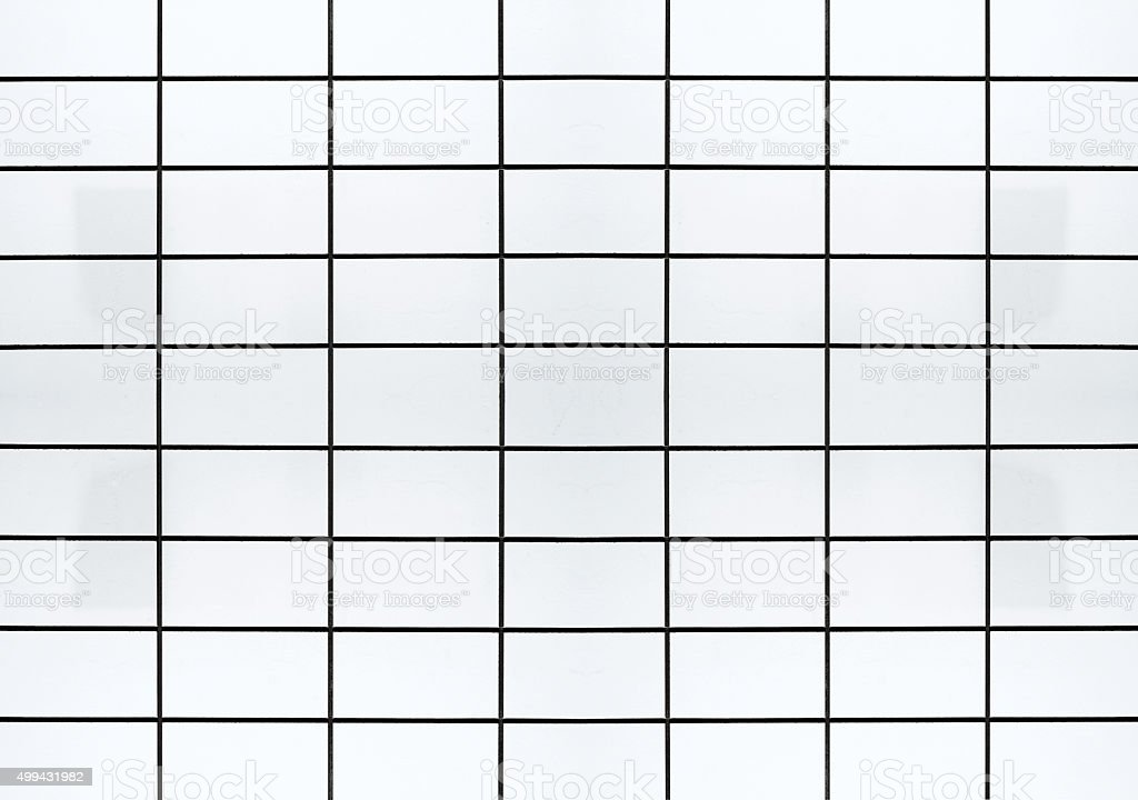 Blank tile wall XXL stock photo