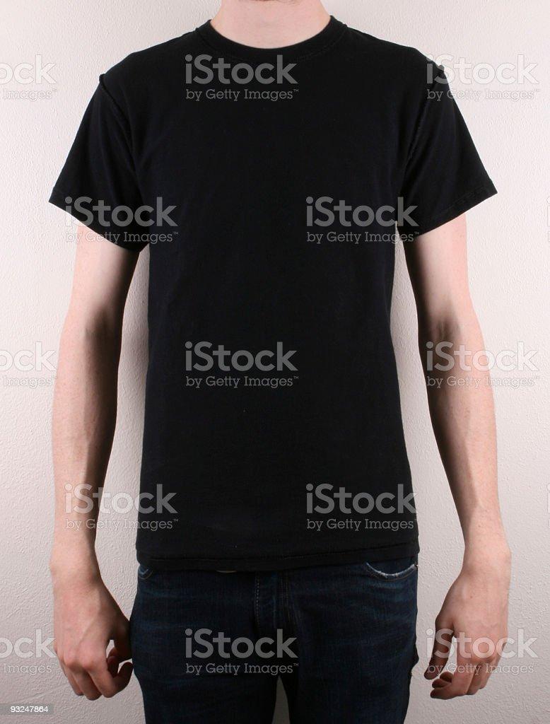 Blank T-Shirt royalty-free stock photo