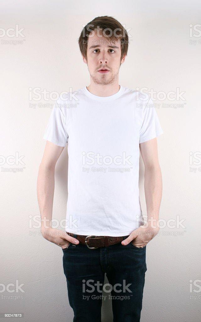 Blank T-Shirt stock photo