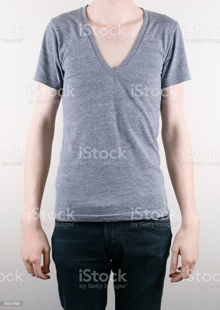 Blank T-Shirt royalty-free stock photo
