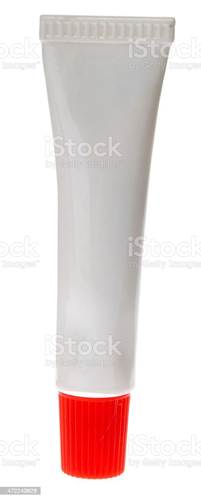 blanko Tube stock photo