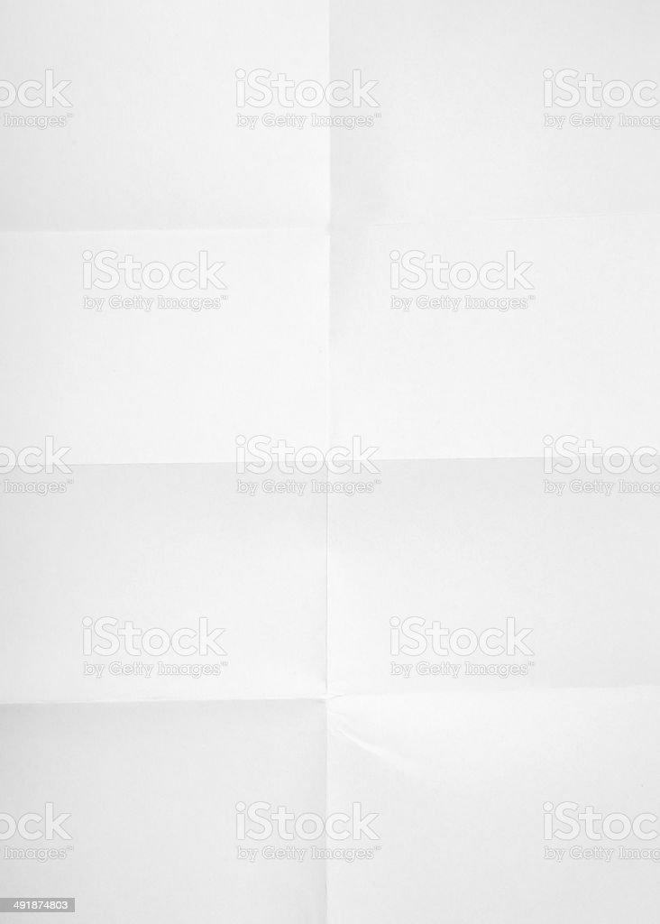blank unfolded paper used marks grunge stock photo