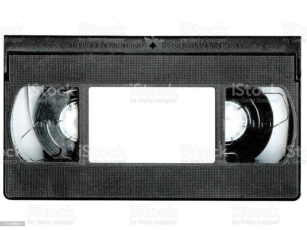 Blank Video Tape stock photo