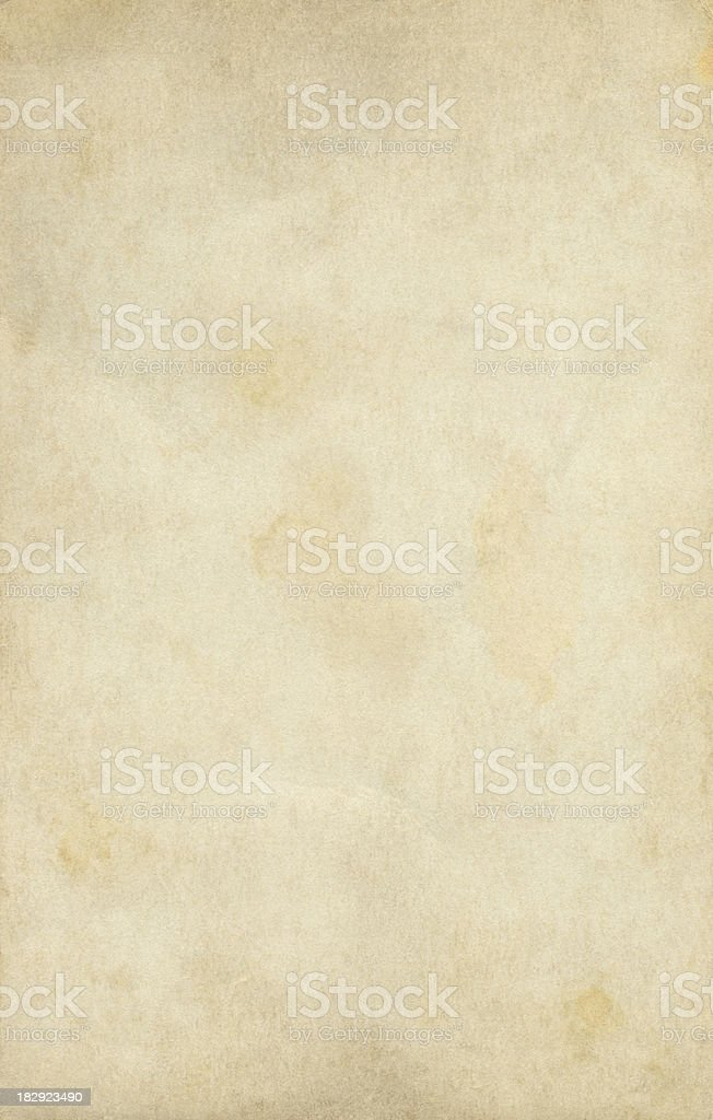 Blank vintage and old paper background royalty-free stock photo