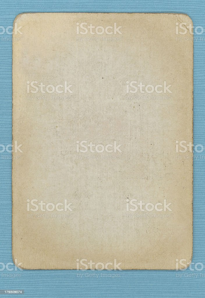 Blank Vintage Grunge Card royalty-free stock photo