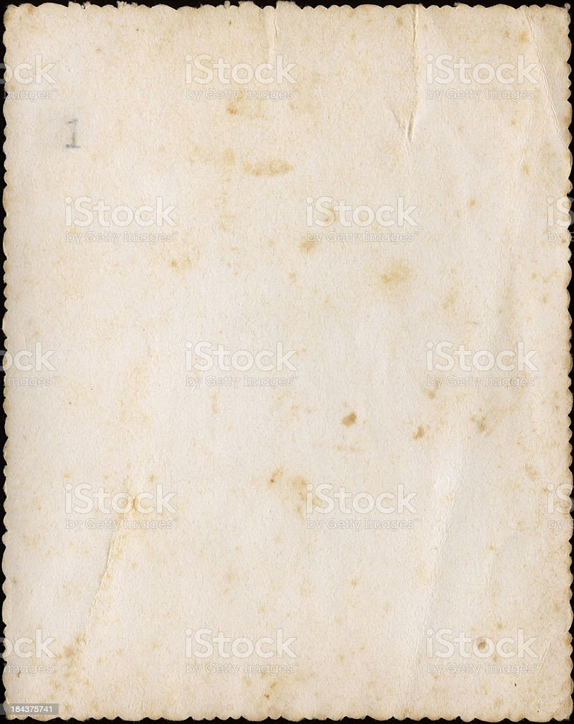 Blank Vintage Paper royalty-free stock photo