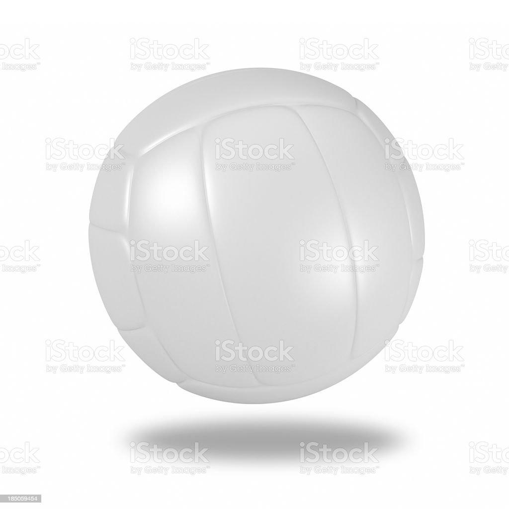 Blank volleyball stock photo