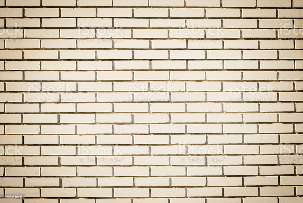 Blank wall made of bricks. Place for text royalty-free stock photo