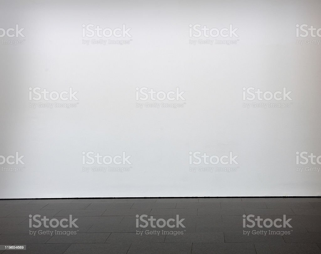 blank wall stock photo