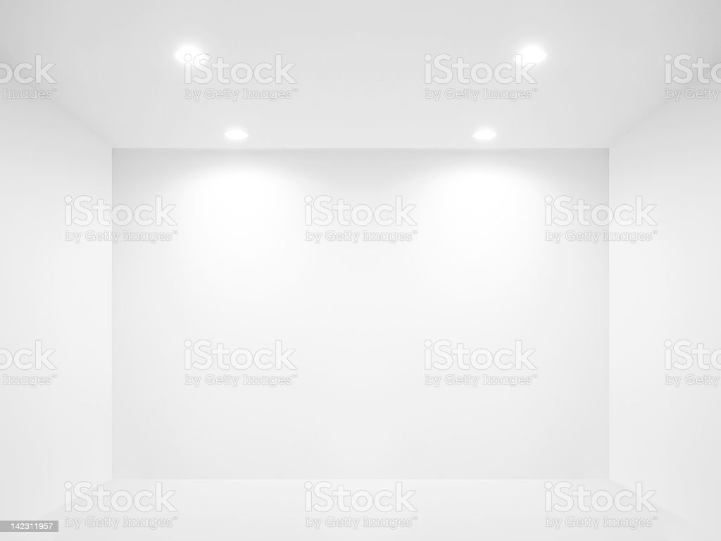 Blank wall stock photo