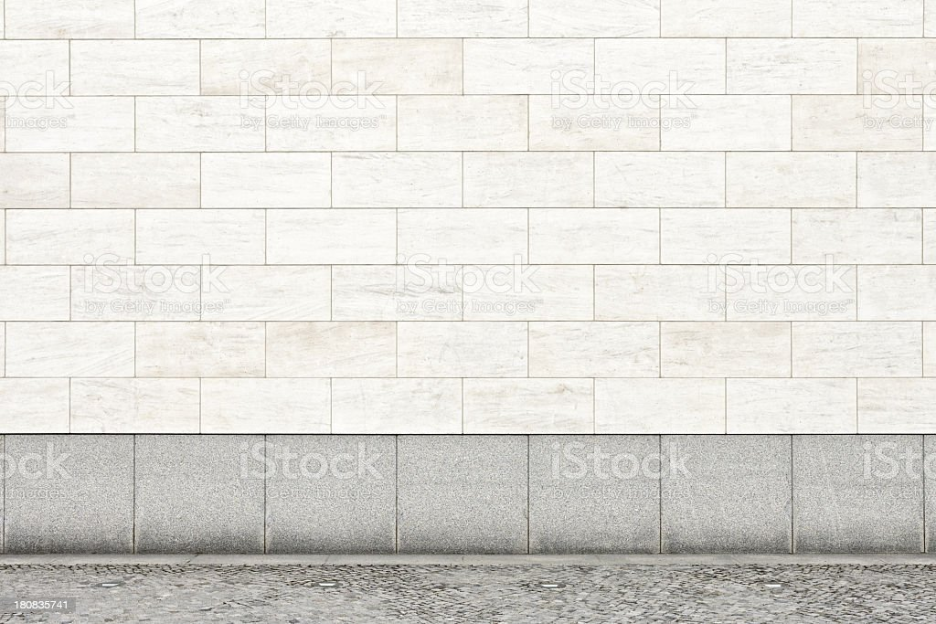 Blank wall XXL stock photo