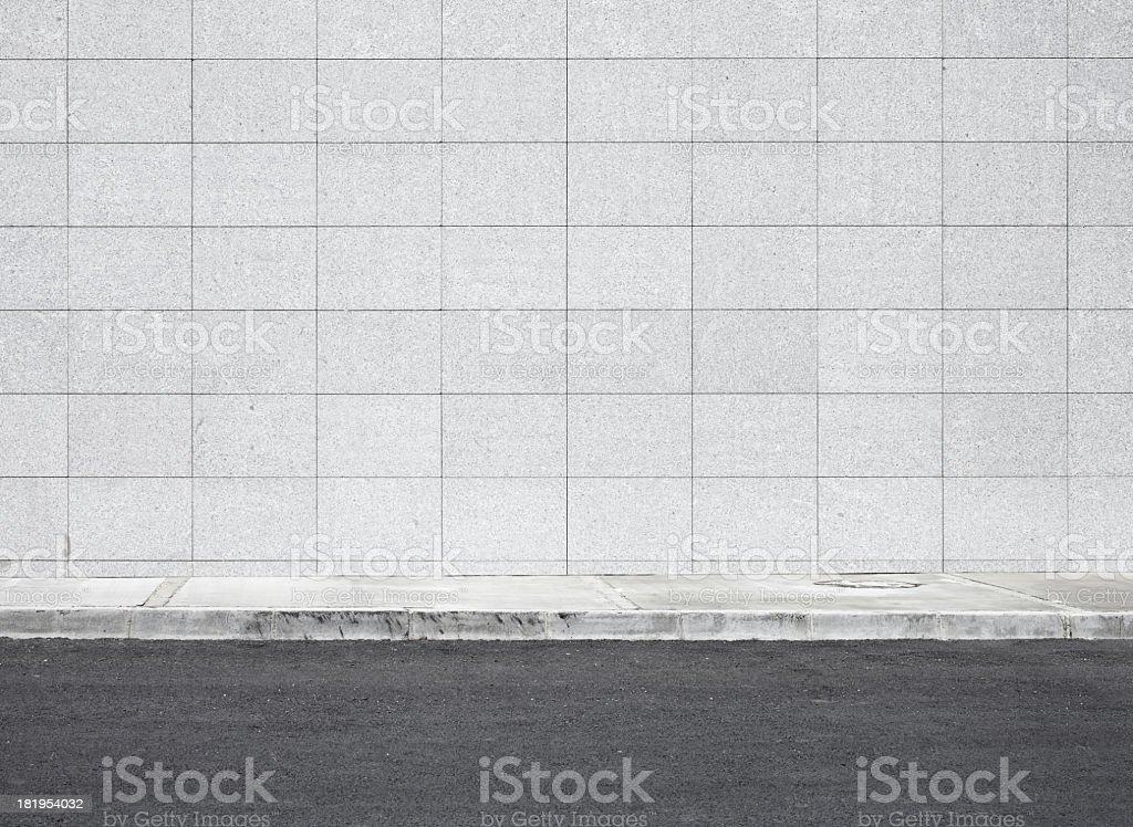 Blank wall XXXL royalty-free stock photo