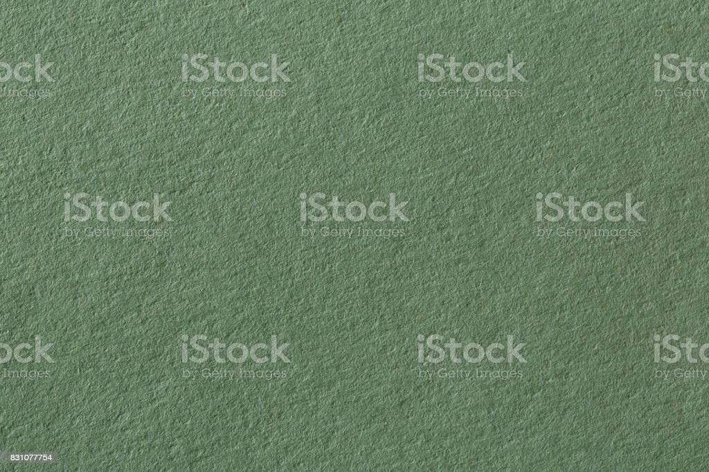 Blank warm green color design paper natural texture stock photo