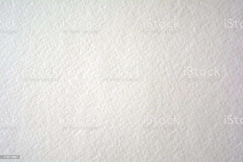Blank Watercolor paper with textured surface stock photo