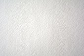 Blank Watercolor paper with textured surface