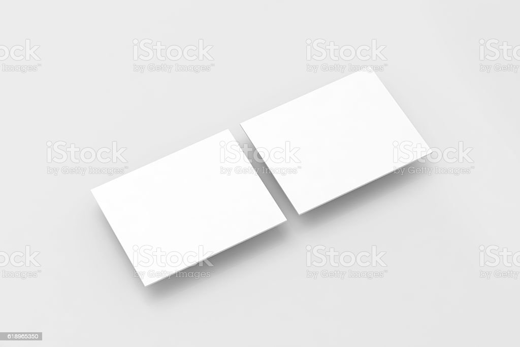 Blank white rectangles computer web-site design mockup stock photo