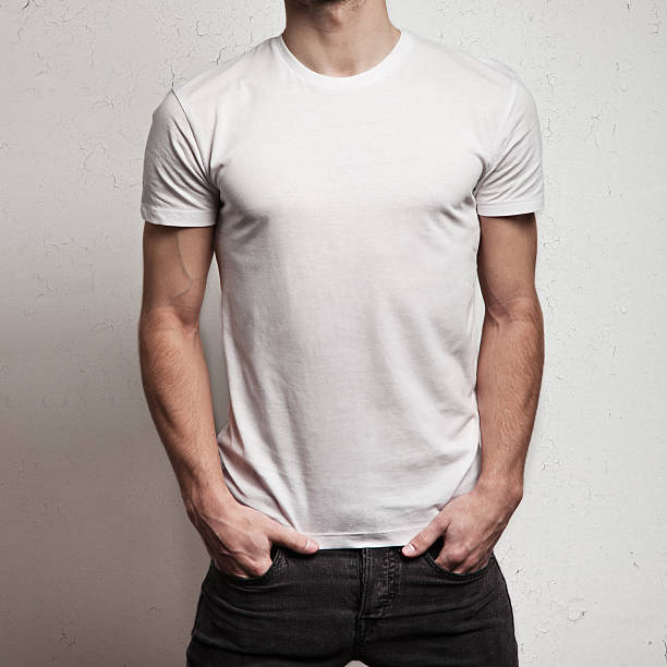 Blank t shirt pictures images and stock photos istock for T shirt template with model