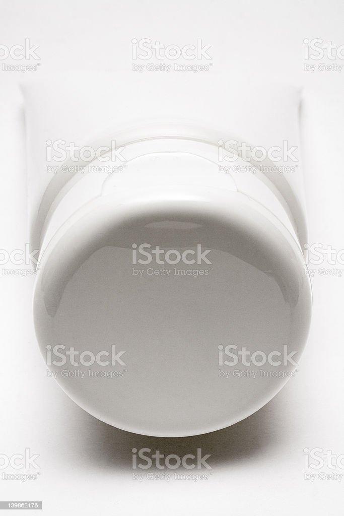 Blank White Tube (Front View) royalty-free stock photo