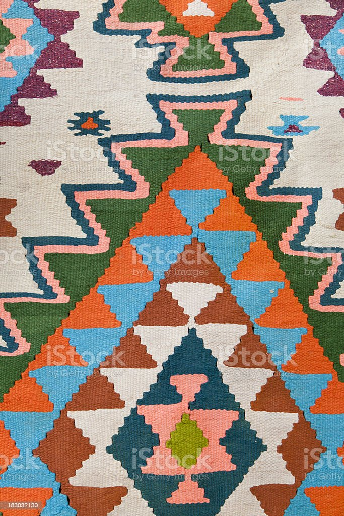 Blanket, Native American, Wall Hanging, Background royalty-free stock photo
