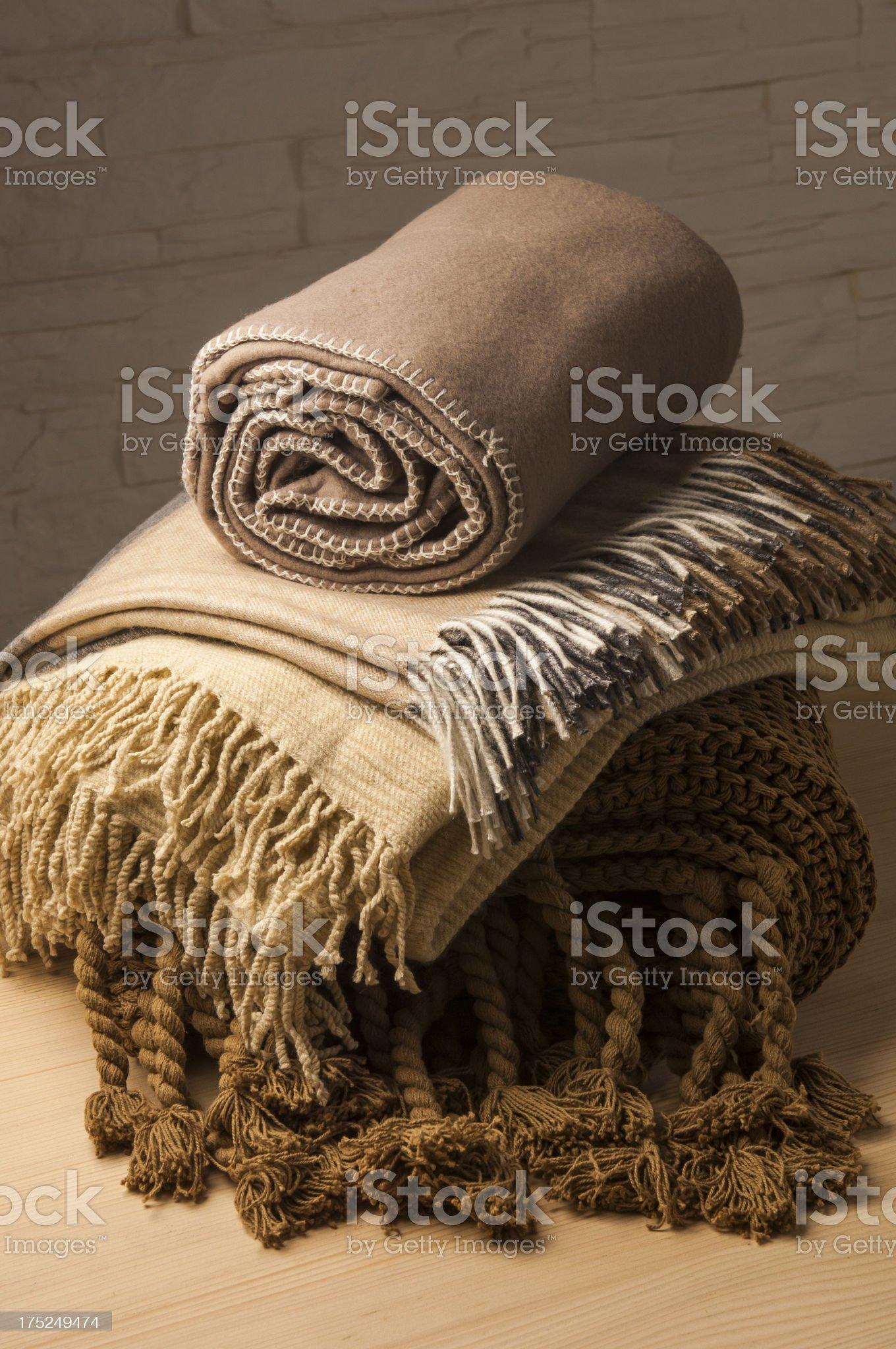 blankets royalty-free stock photo