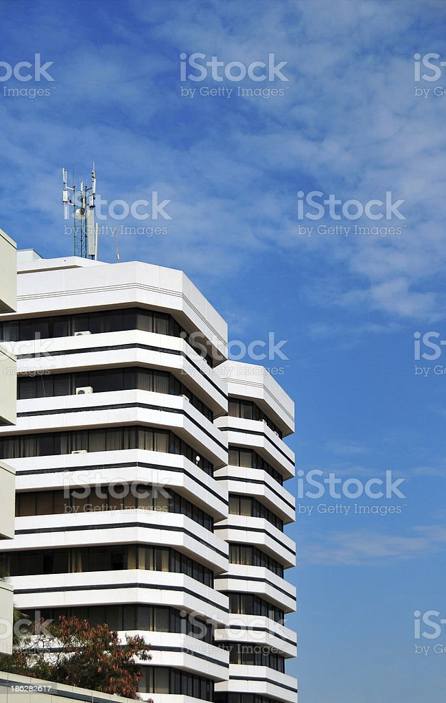 Blantyre, Malawi: office tower stock photo
