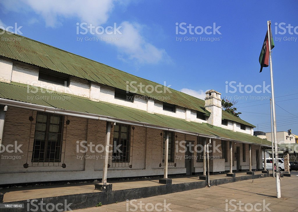 Blantyre, Malawi: Old Boma - the original town hall royalty-free stock photo