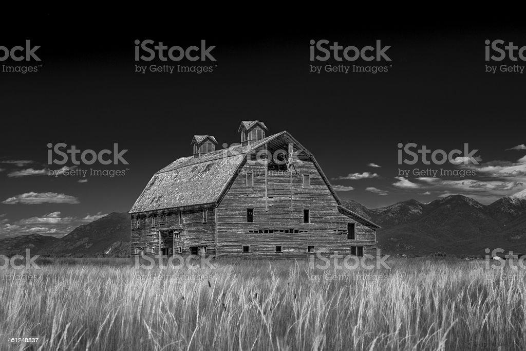 Blasdel Barn stock photo