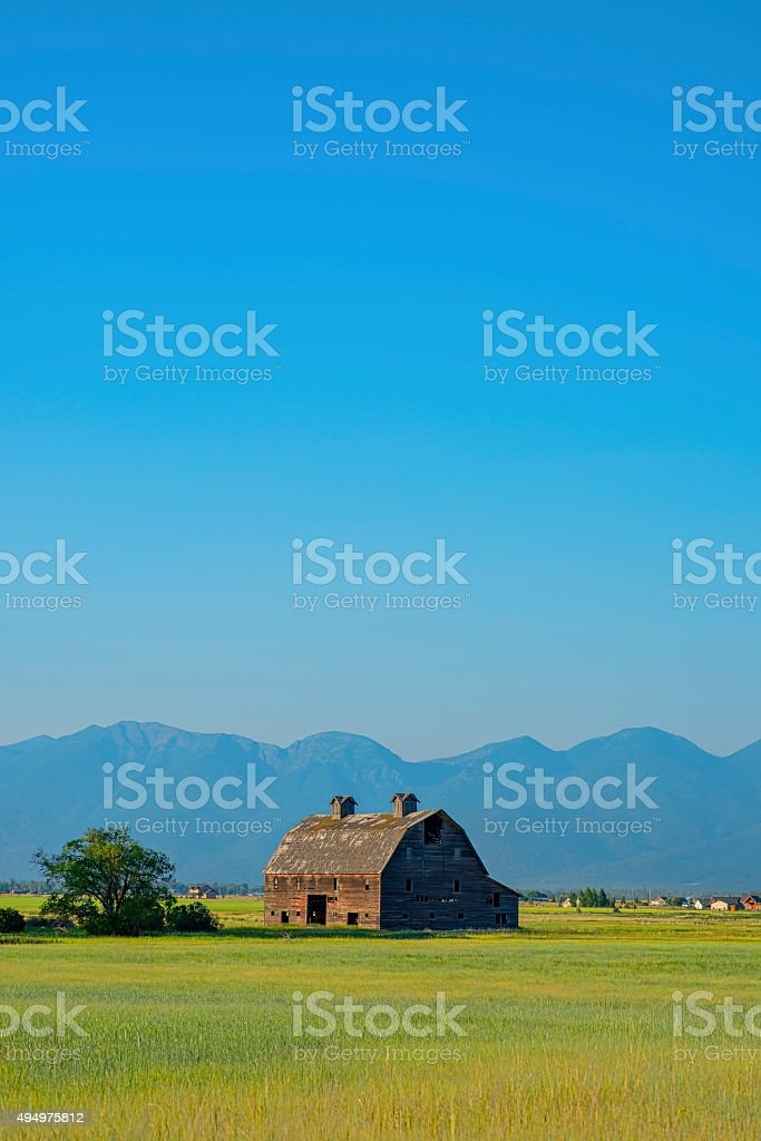 Blasdel Porter Barn stock photo