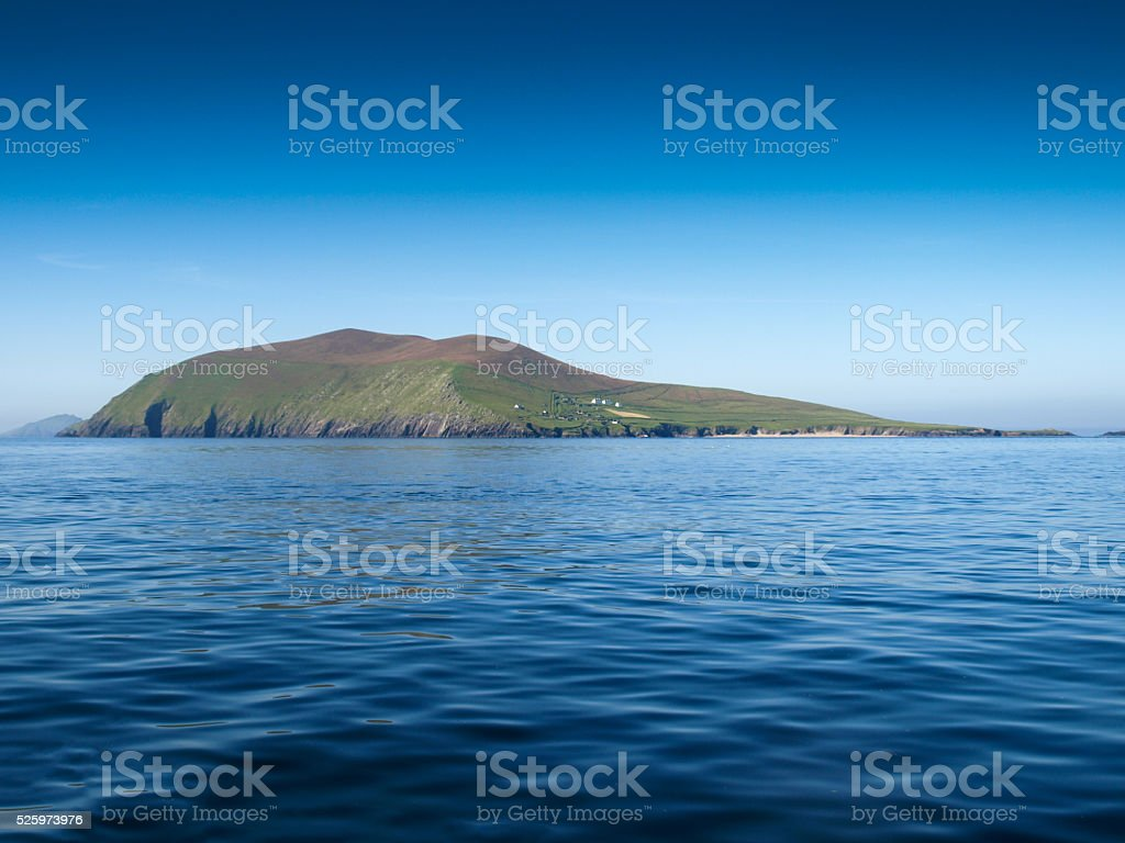 Blasket Island stock photo