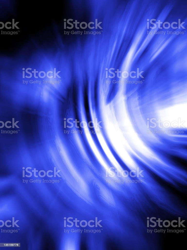 Blast -2- Blue royalty-free stock photo