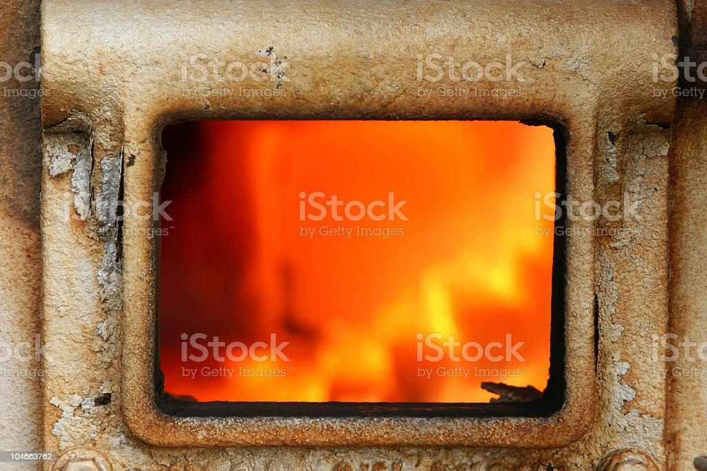 Blast Furnace stock photo