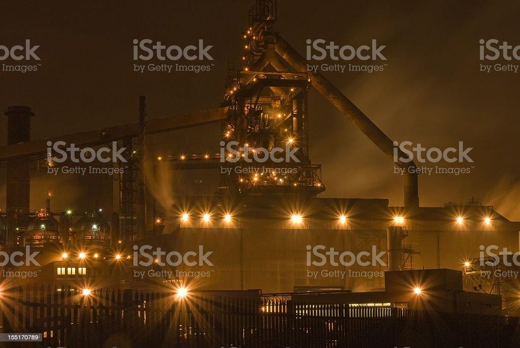 Blast Furnace, Redcar stock photo