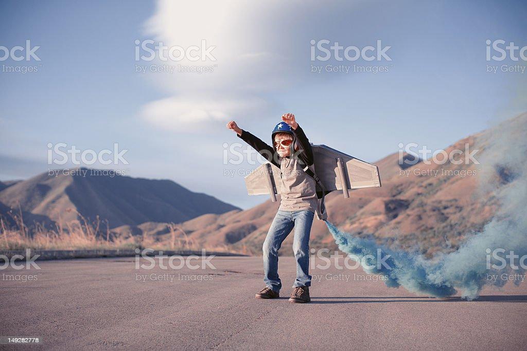 Blast Off stock photo