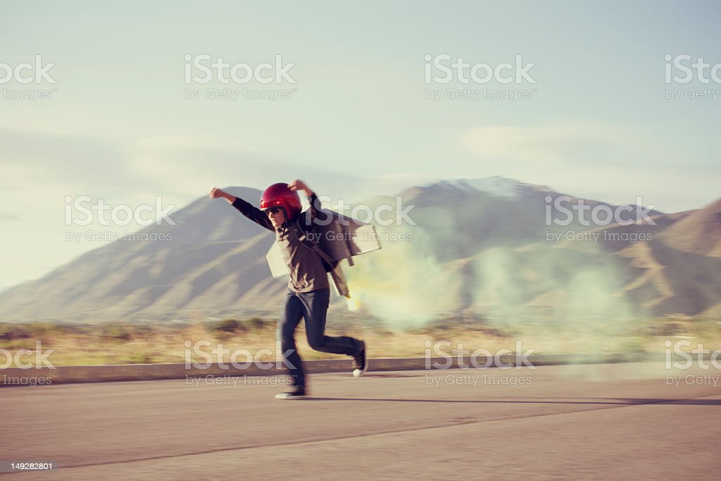 Blast Off stock photo